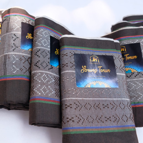 Foto Produk KAIN SARUNG TENUN MURAH MUSLIM COKLAT - Cokelat dari jaya hebat