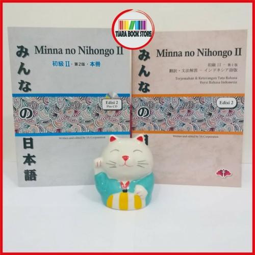 Foto Produk Paket Murah Minna no Nihongo 2 dasar lanjutan teksbook&terjemahan N4 dari Tiara Book Store