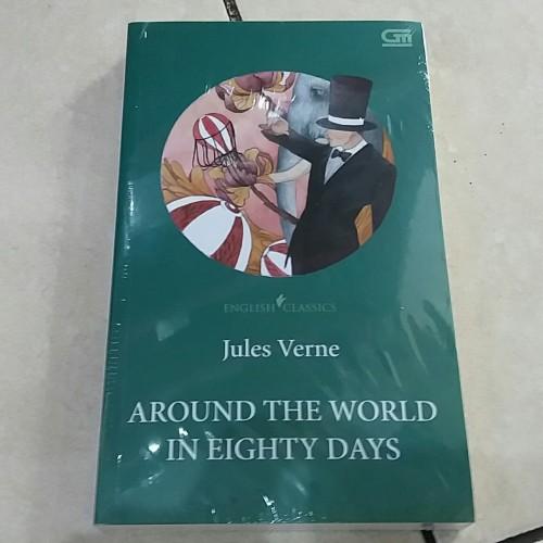Foto Produk Novel English Classics: Around The World in Eighty Days - Jules Verne dari Pusat Komik