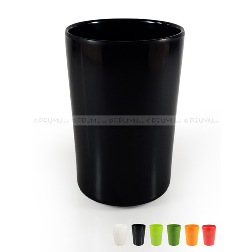 Foto Produk Gelas Sedang Melamin   Gelas Melamin   Gelas Melamine - Unica M 250 - Hitam dari PRUMU dot com