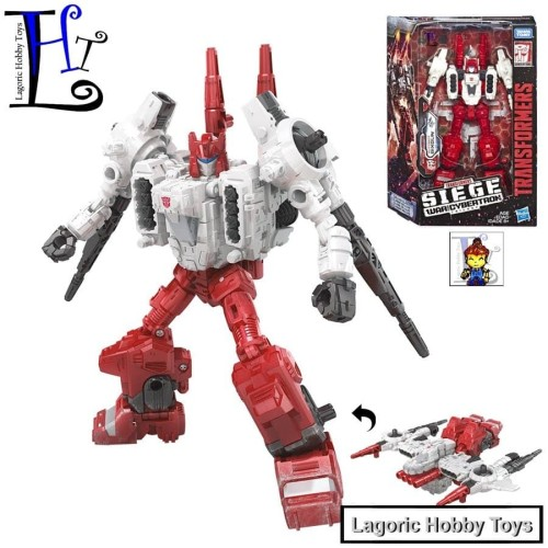 Foto Produk Transformers WFC-S22 SixGun Siege Deluxe Hasbro dari Lagoric Hobby Toys