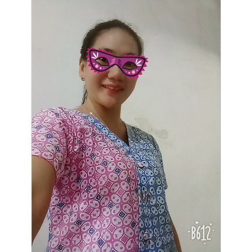 Foto Produk Atasan Blouse Batik Wanita S.M.L.XL.XXL - S dari BATIK DUA PUTRI