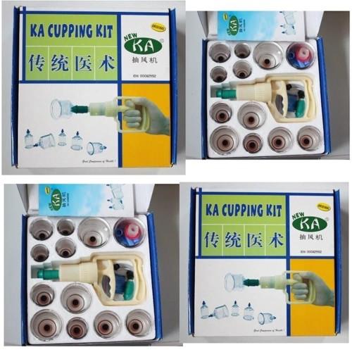Foto Produk Alat Bekam Kop Angin KA Cupping Kit Isi 12 Original Murah dari Toko Nini Lengkap
