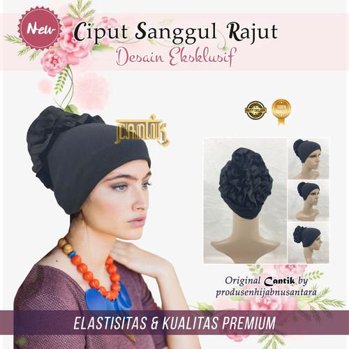 Foto Produk Ciput Inner Cepol Sanggul Rajut dari gerai.cantik