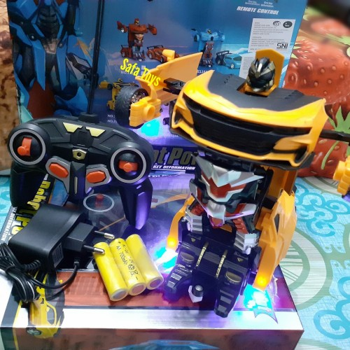 Foto Produk RC Mobil Robot Bumblee Bee Deformation Bisa Jadi Robot Dari Remot dari Sa-fa Toys