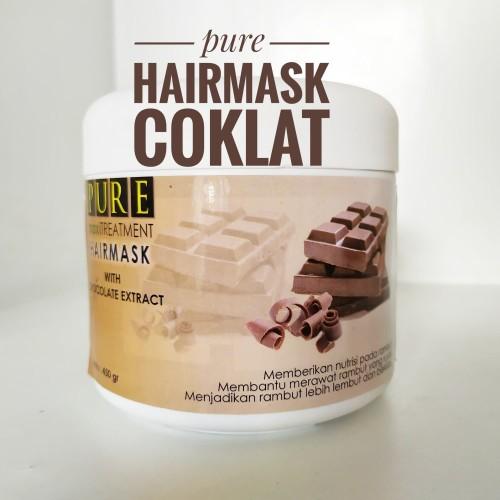 Jual Hairmask Coklat Masker Rambut Coklat Perawatan Rambut Melembabkan Kab Malang Pusat Perlengkapan Salon Tokopedia