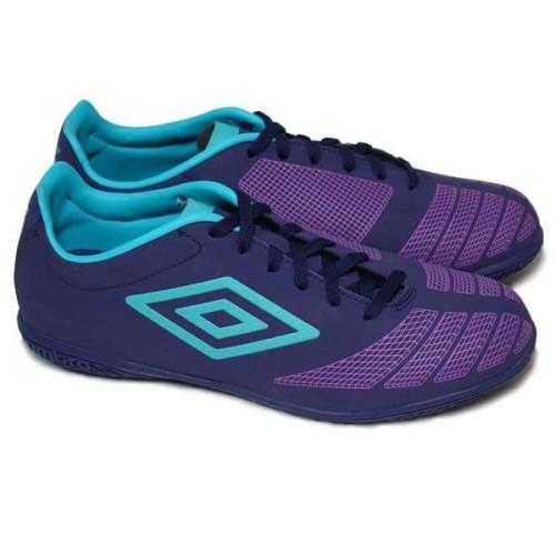 Foto Produk Sepatu futsal UX Accuro Club purple blue Original dari futsole.id