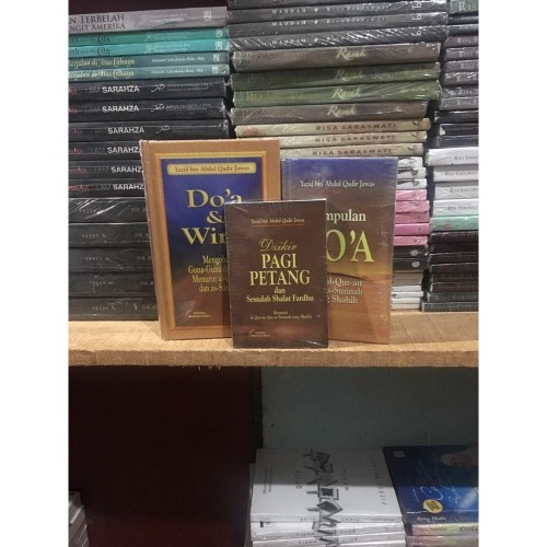 Foto Produk Paket 3 Buku Do'a & Wirid Dll By Yazid Bin Abdul Qadir Jawas dari TOKO Grosir Buku