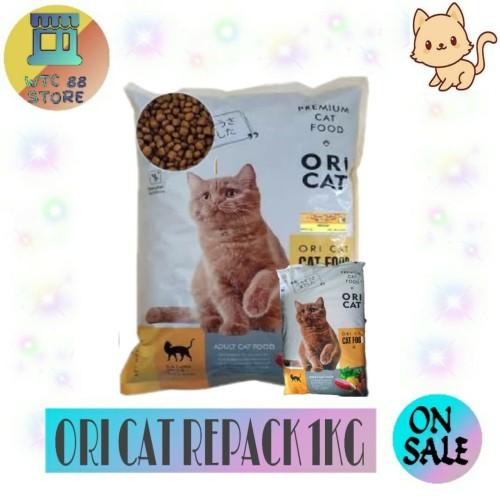Foto Produk MAKANAN KUCING ORI CAT CATFOOD REPACK 1KG - ORICAT IKAN dari WTC88 store