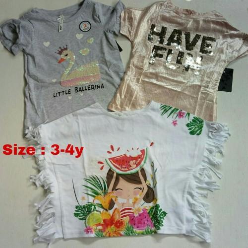 Foto Produk Atasan Anak Size 3-4thn dari Navara_Kids