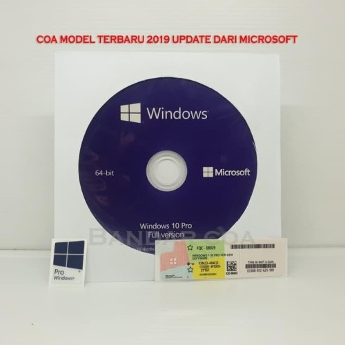 Foto Produk sale Win 10 Pro COA OEM Windows 10 Professional Product Key murah gan dari pusat coa