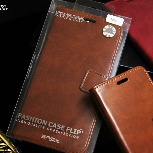 Foto Produk LEATHER FLIP COVER WALLET SAMSUNG A20 / A30 / A50 CASE CASING - Hitam, A20 Dan A30 dari GALAXY.S ACC