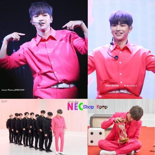 Foto Produk Kang Daniel What Are You Up To MV Shirt - Pink dari NEC Shop Kpop