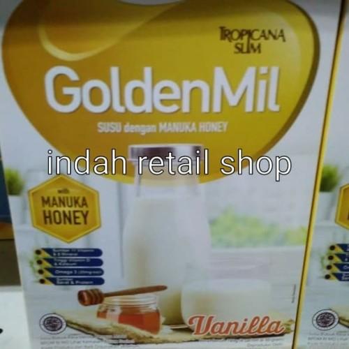 Foto Produk Tropicana slim goldenmil vanilla dari indah retail shop