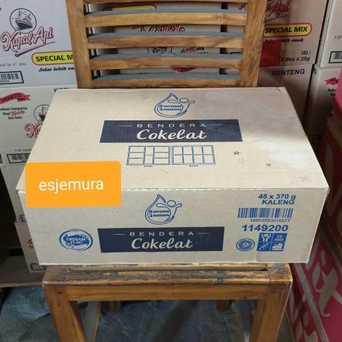 Foto Produk Bendera Coklat Susu Kental Manis 370g (carton) dari esjemura