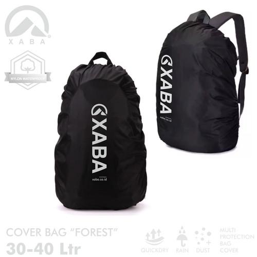 Foto Produk XABA Cover Bag FOREST 30-40 Liter - Penutup Tas - Rain Cover dari XABA