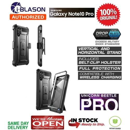 Foto Produk Case Samsung Note 10 Plus SUPCASE Unicorn Beetle UB PRO -Black-Holster dari Spigen Indonesia