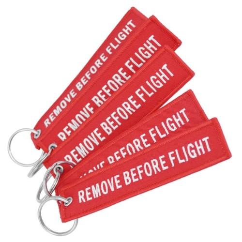 Foto Produk Doreen Gantungan Kunci Tag Kain Remove Before Flight - AE120693 dari BudgetGadget