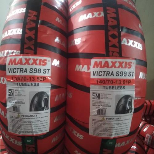 Foto Produk OBRAL GILA Ban Maxxis 120/70-13 dan 140/70-13 Nmax .. dari Sumber Jaya Motor