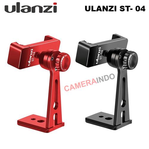 Foto Produk Ulanzi ST-04 360 Smartphone Phone Holder HP Vlog Stand Tripod Mount - Hitam dari SMN Official