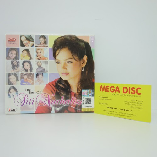 Foto Produk CD Siti Nurhaliza - The Best of Album 2CD Audio Music Melayu Malay dari Mega Disc