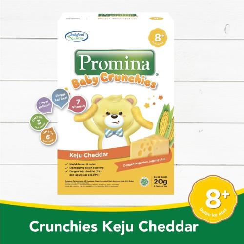 Foto Produk Promina Baby Crunchies Keju Cheddar 20 Gr dari Promina Official Store