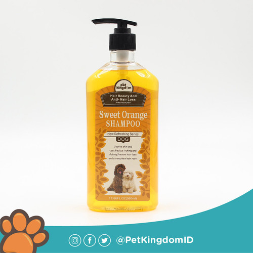 Foto Produk SHAMPOO ANJING PET KINGDOM HAIR BEAUTY ANTI HAIR LOSS dari Pet Kingdom