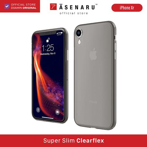 Foto Produk ASENARU iPhone XR Case - Super Slim ClearFlex Case - Raven Black dari Asenaru Official Store