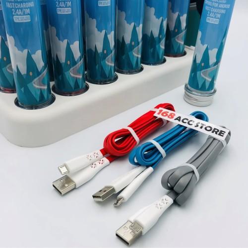 Foto Produk KABEL DATA MICRO USB VIVAN CTM / KABEL CHARGER VIVAN MICRO USB dari 168ACCSTORE