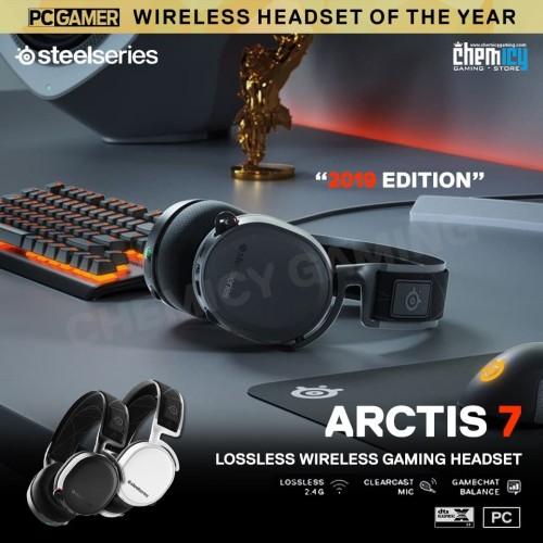 Foto Produk Steelseries Arctis 7 Black dari Chemicy Gaming