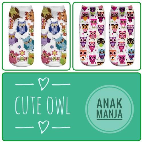 Foto Produk Kaos Kaki anak Laki perempuan burung hantu owl cute dari Anak Manja