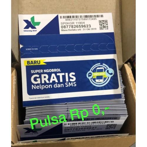 Foto Produk Kartu Perdana XL 4G| Nomor Sim Card Segel Baru dari GADZILA STORE