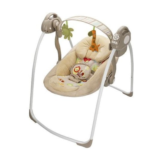 Foto Produk BabyElle Automatic Baby Swing Beige / Ayunan Bayi / Bouncer dari StarLine Collection