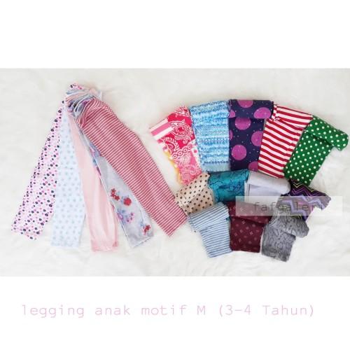 Foto Produk Legging Anak Motif 3-4 Tahun Size M - 3-4 tahun, Gelap dari FAF Galeri
