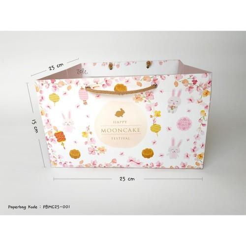 Foto Produk (PBMC25-01[isi 10]) paperbag kantong mooncake mid autumn festival dari i am CiLi