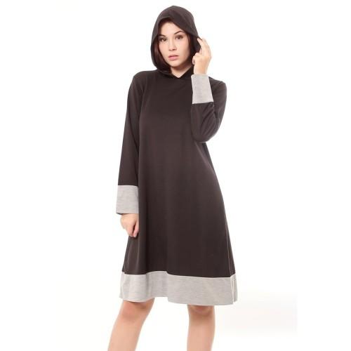 Foto Produk Yoenik Apparel Milena Dress Hoodie Black M14879 R34S6 dari Yoenik Apparel