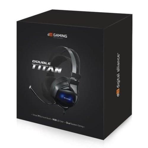 Foto Produk Headset Gaming Double Titan DA - Digital Alliance dari kharismakencana
