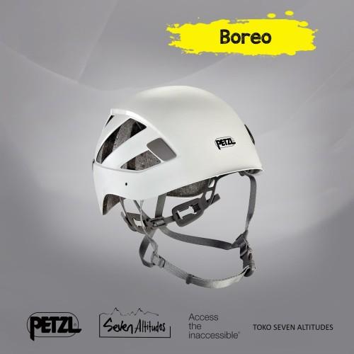 Foto Produk Helm Climbing and Caving Petzl Boreo - Hijau dari Seven Altitudes