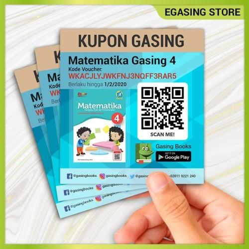 Foto Produk Kupon Gasing eBook Matematika - K13 Kelas 4 SD dari EGASING STORE