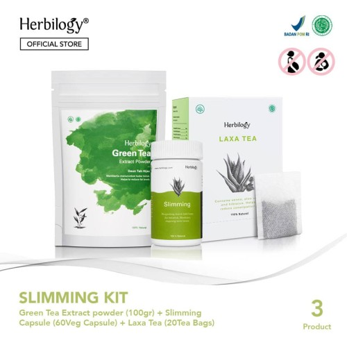 Foto Produk Paket Herbilogy Slimming Kit dengan Green Tea dari Herbilogy