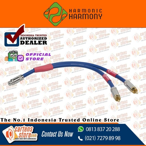 Foto Produk Harmony Harmonic Y-Cable Expand Kabel RCA Cabang 2M1F By Cartens dari Cartens Store