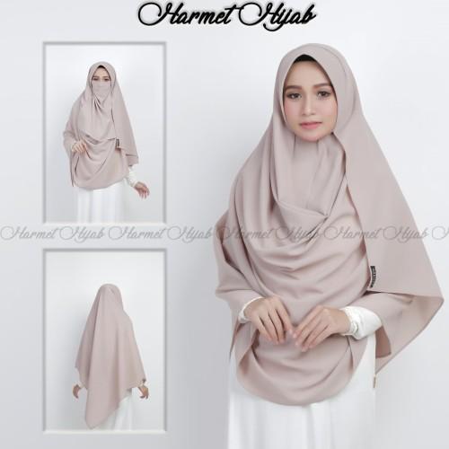 Foto Produk Gratis Cadar Jilbab Pasmina Instan Syari Ped Antem - Hitam dari Hijab Instant Grosir