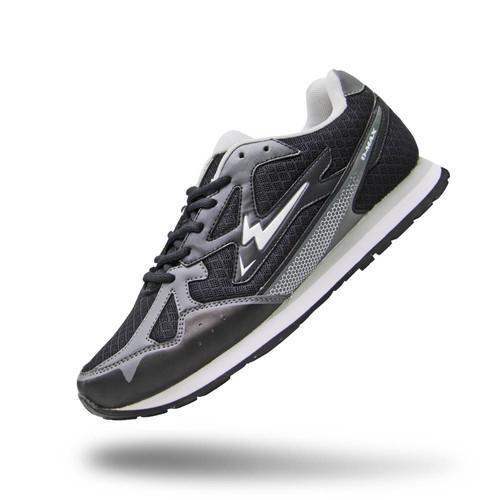 Foto Produk Sepatu Eagle Aero – Running Shoes - Hitam Abu Muda, 38 dari eagle official store
