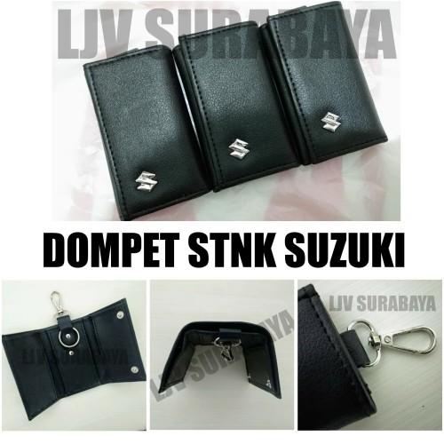 Foto Produk Dompet kulit STNK dan gantungan kunci logo mobil Suzuki dari LJV SURABAYA