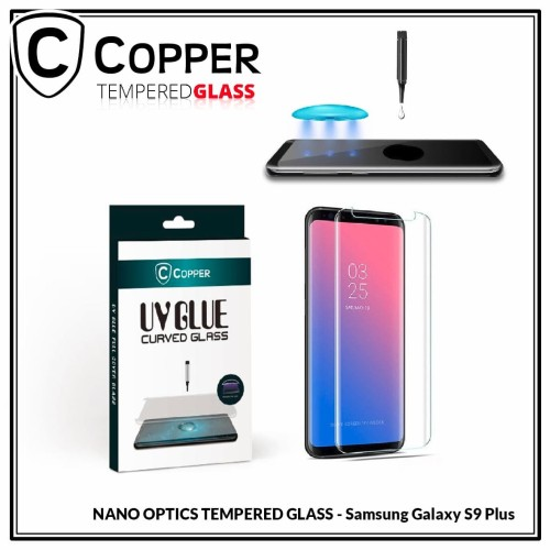 Foto Produk Samsung Galaxy S9 Plus - COPPER Nano UV Glue Tempered Glass dari Copper Indonesia