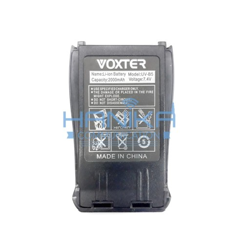 Foto Produk Baterai HT Voxter UV-B5 Ori Baru Batre Battery Vokster UVB5 dari Hanika Communication