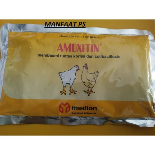 Foto Produk Amoxitin 100 gram obat korisa dari manfaat ps