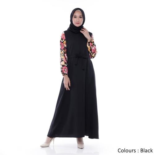 Foto Produk Gamis Wanita   Amelia Maxi   New Colours Original   Tazkia Hijab Store - Maroon dari Tazkia Hijab Store