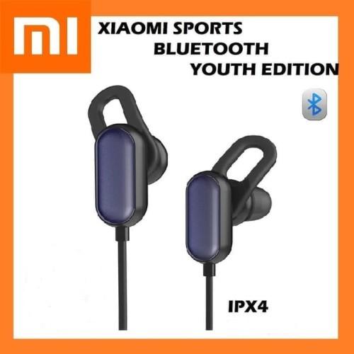 Foto Produk Earphone Xiaomi Mi Sport Bluetooth Youth Edition Original - Hitam dari odomart