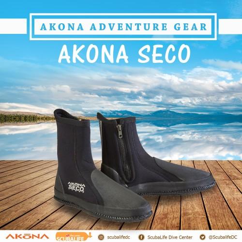 Foto Produk Akona Seco Boots Self Draining Boot 3.5 mm - 6 dari Sherwood Scuba Indonesia